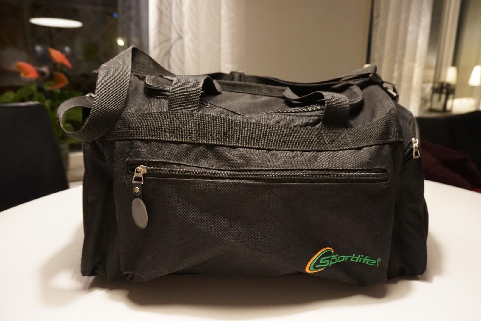 bb-väskan är äntligen packad