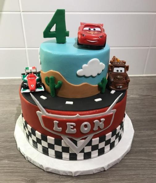 4 år kalas tårta