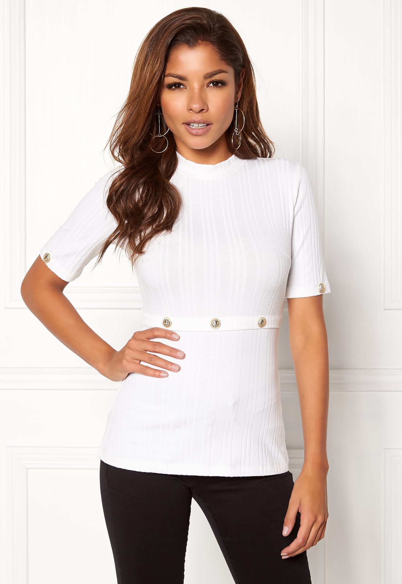 bubbleroom-chiara-forthi-ultrasoft-rib-top-white