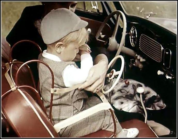 bilbarnstol från 1957