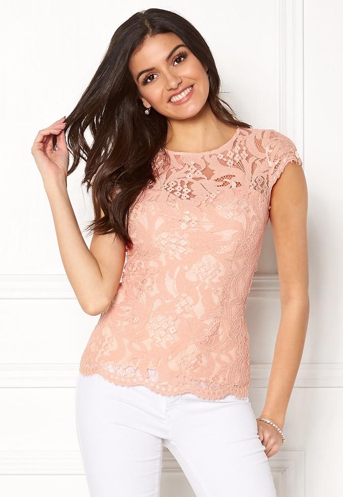 bubbleroom-chiara-forthi-michelle-lace-top-rose-tan