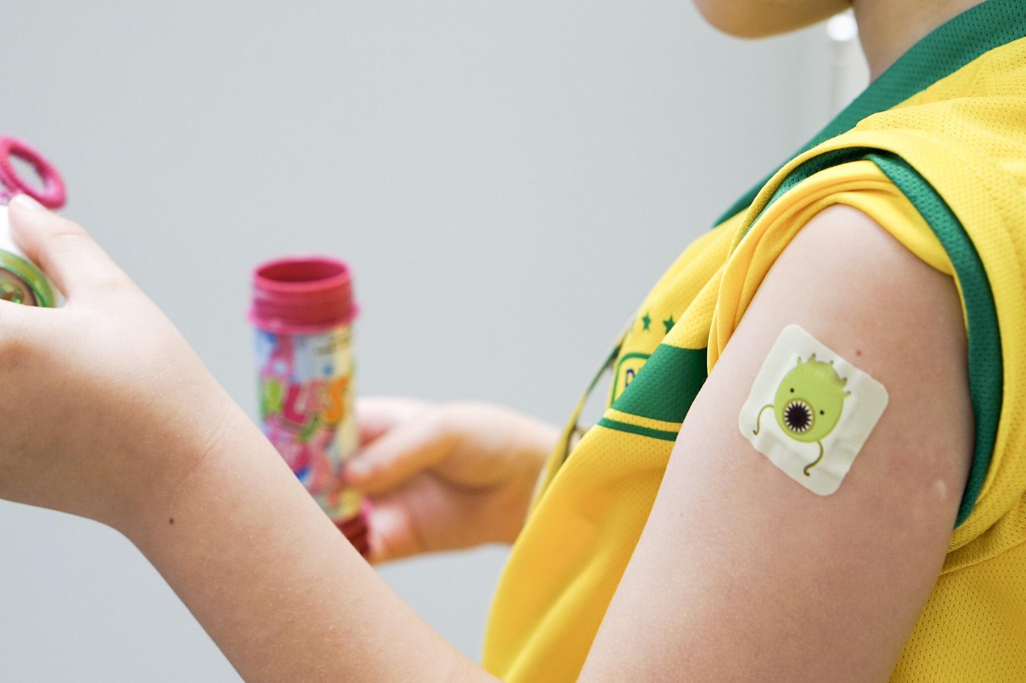 Tredje dosen av TBE-vaccinet - På Smällen!