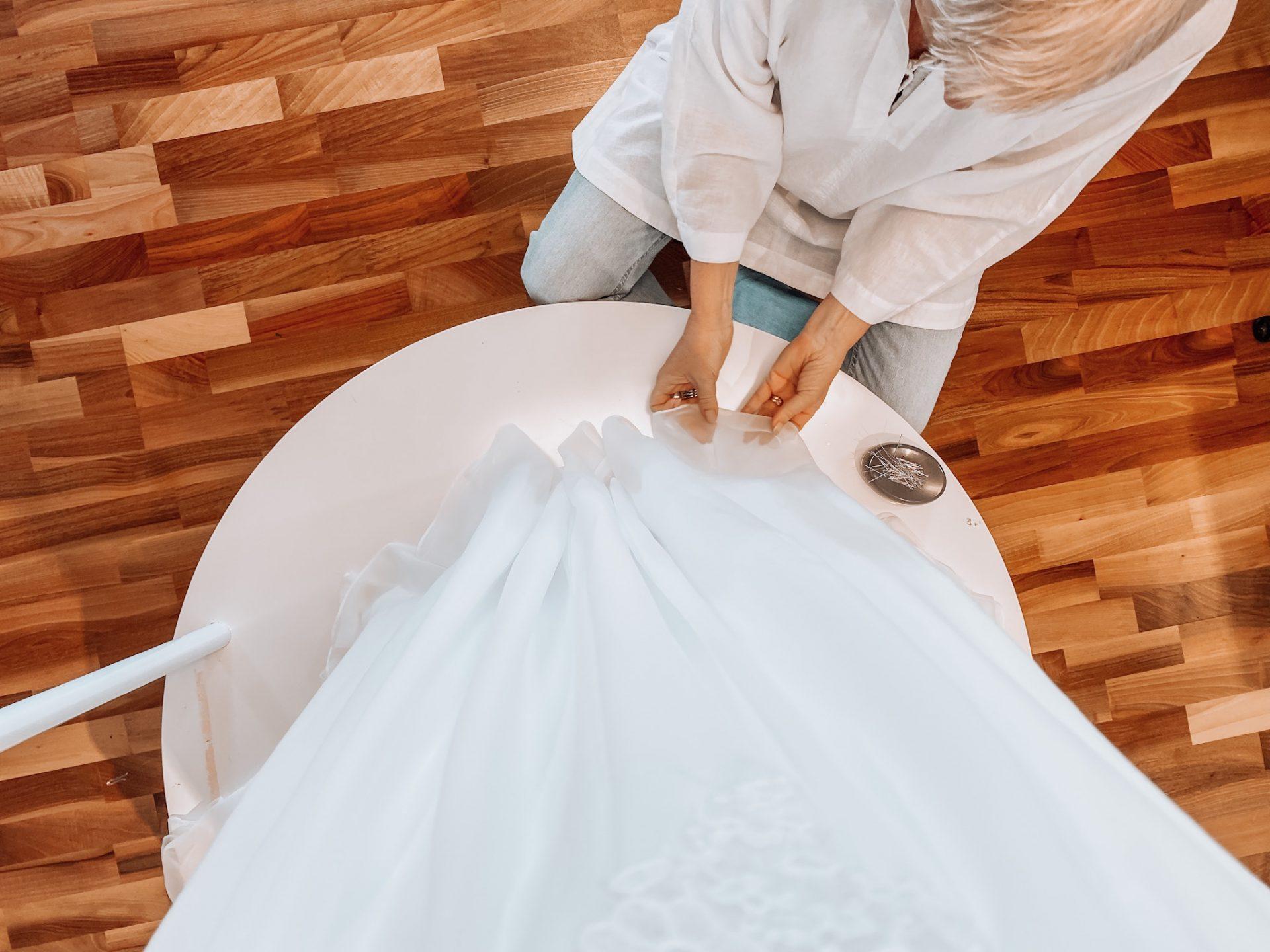 lägga upp bröllopsklänning i göteborg